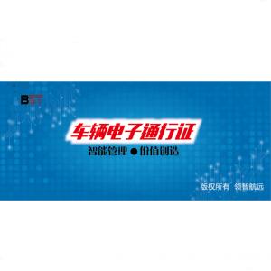 车辆电子通行证 LZTT-11045C-D